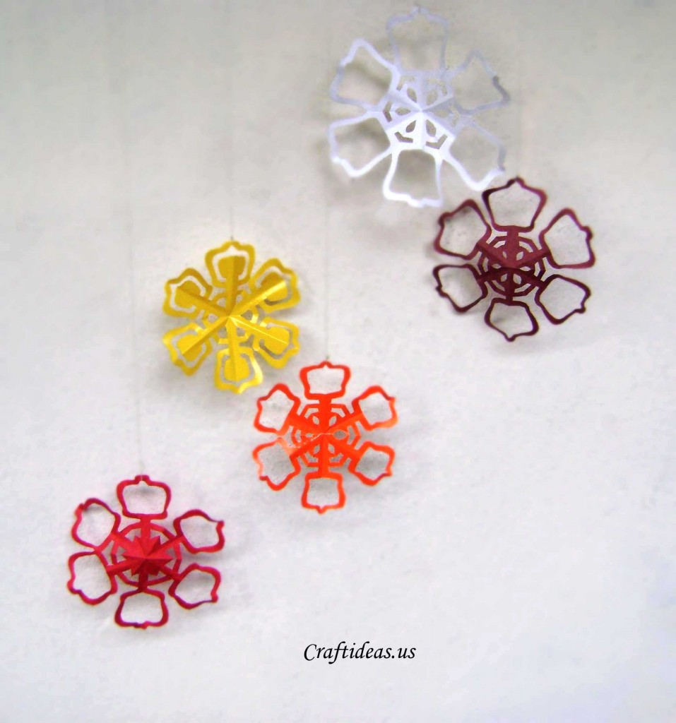 Christmas Craft Ideas 2012 Part - 17: Cutting Snowflakes Out Of Paper Is A Classic Kids Activity, And Itu0027s Still  A Good One. Remember, However, There Are No Eight-sided Or Four-sided  Snowflakes ...