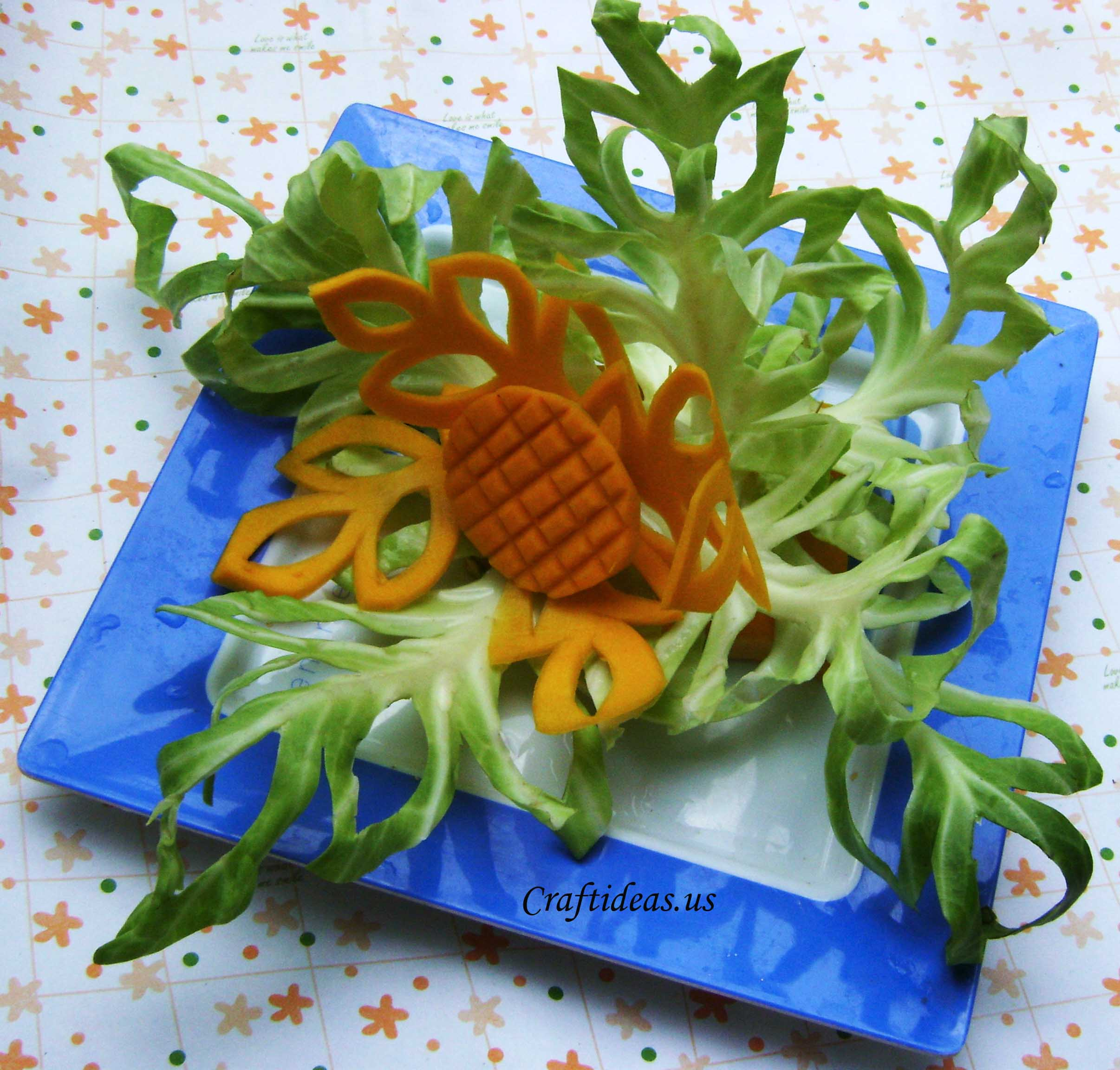 Carving fruits craft ideas