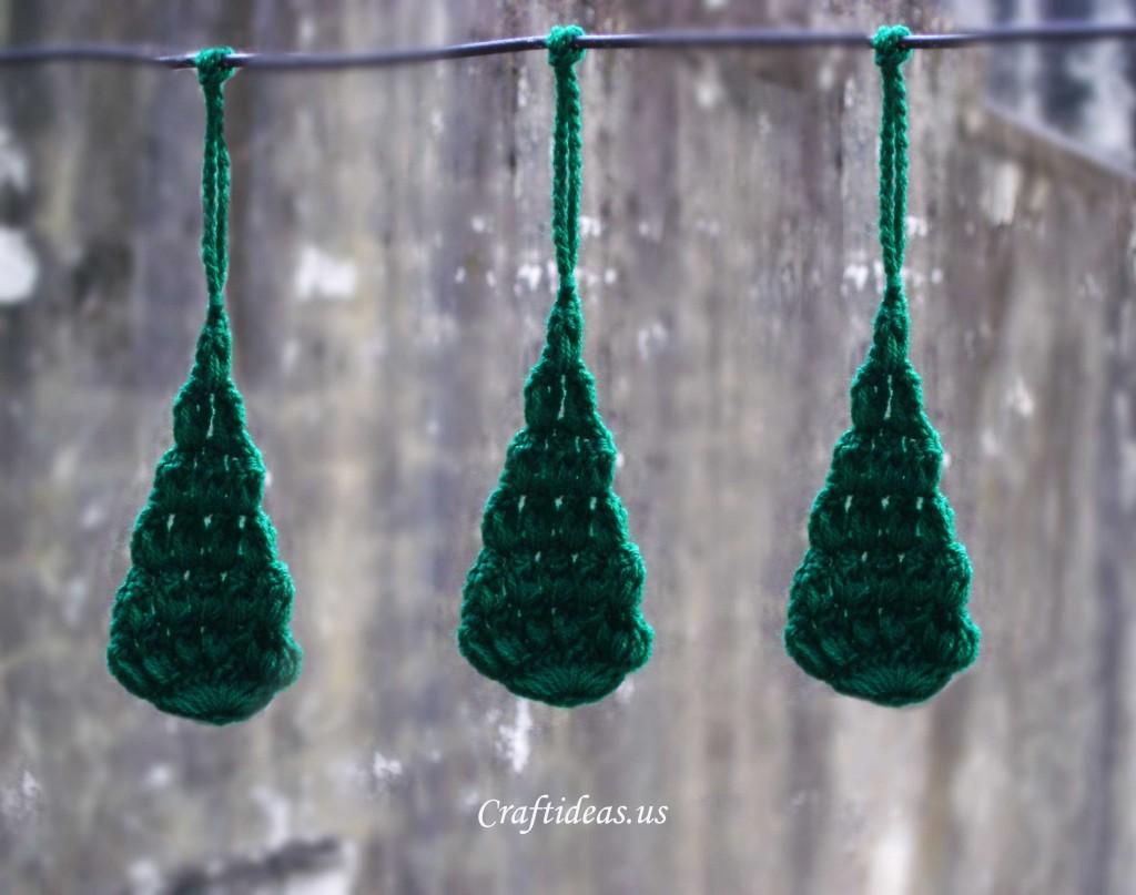 Christmas Craft Ideas Crochet Christmas Tree Ornament