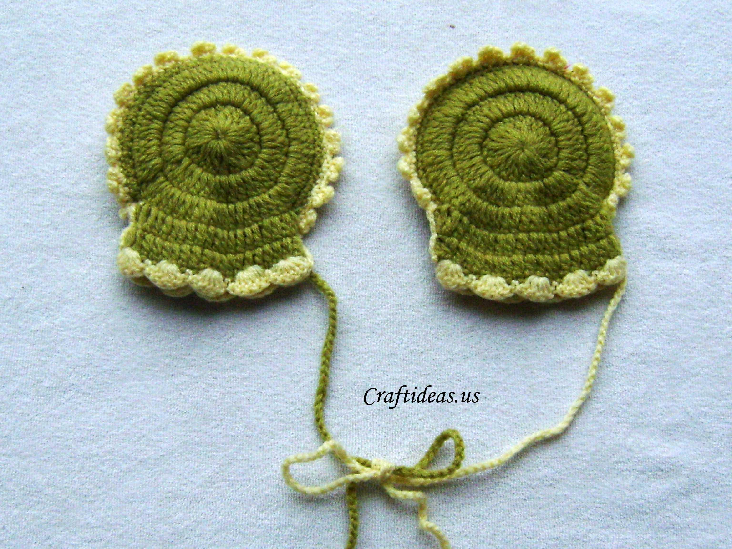 Crochet baby mittens tutorial craft ideas crochet round mittens tutorial bankloansurffo Images