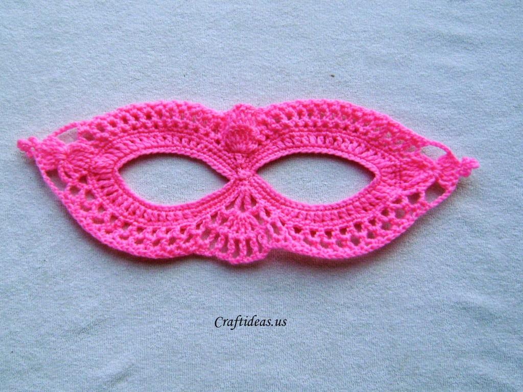 Halloween Craft Ideas Crochet Mask Tutorial Craft Ideas
