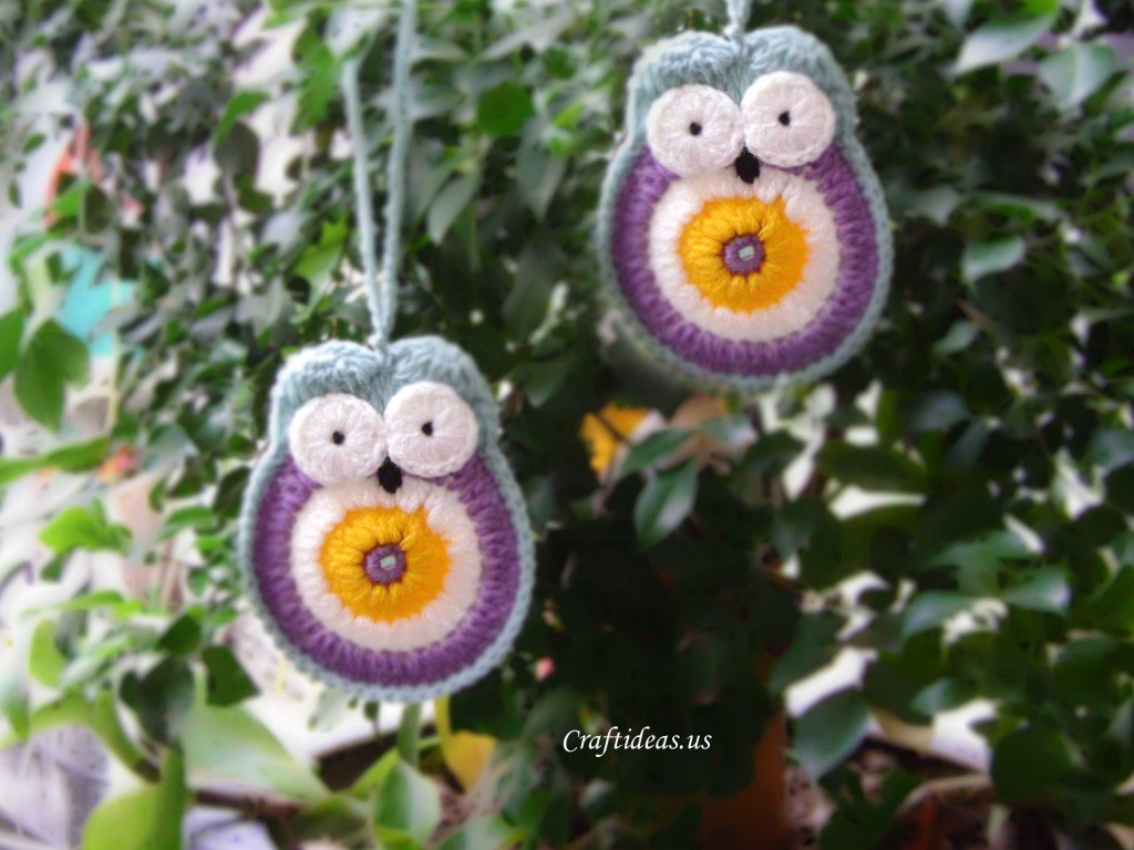 Crochet Tutorial Owl : crochet owl