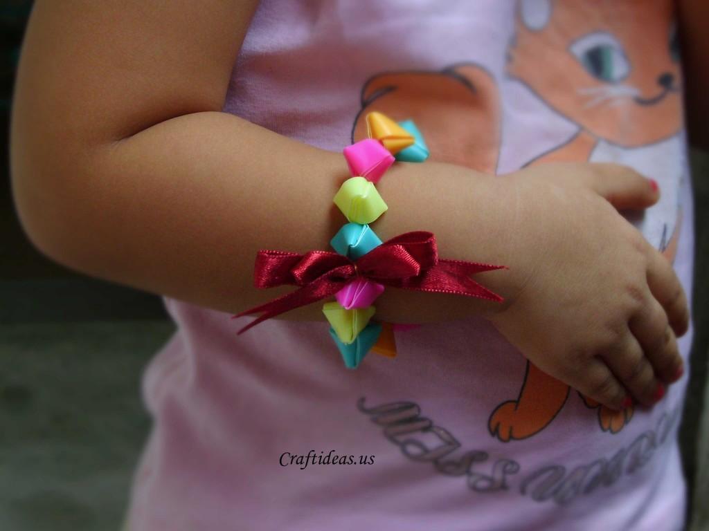 Cute Jewelry With Plastic Straws Craft Ideas
