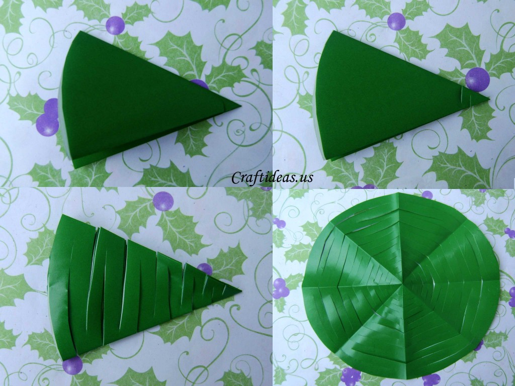 Christmas Craft Ideas Paper Tree Tutorial