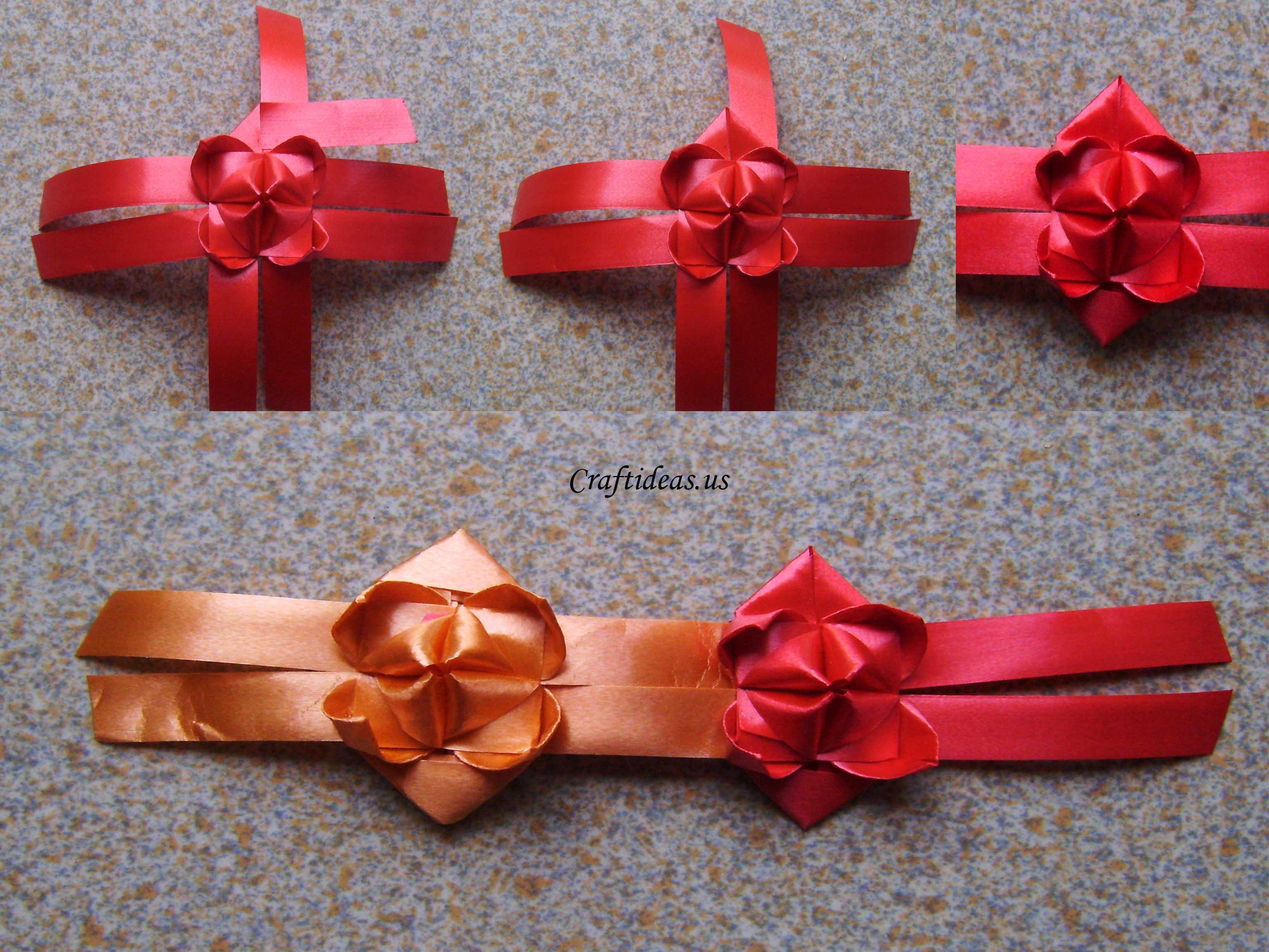 fold ribbon