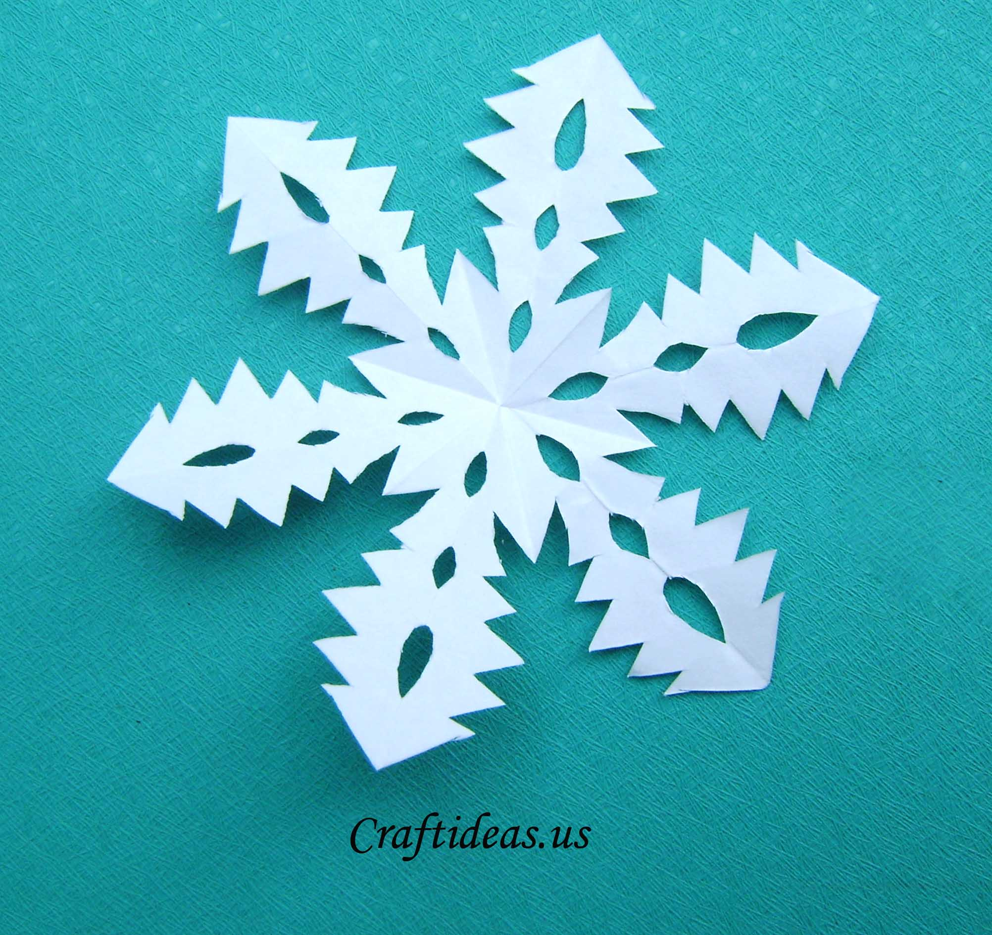 Snowflake Craft Ideas For Kids Part - 25: Step ...