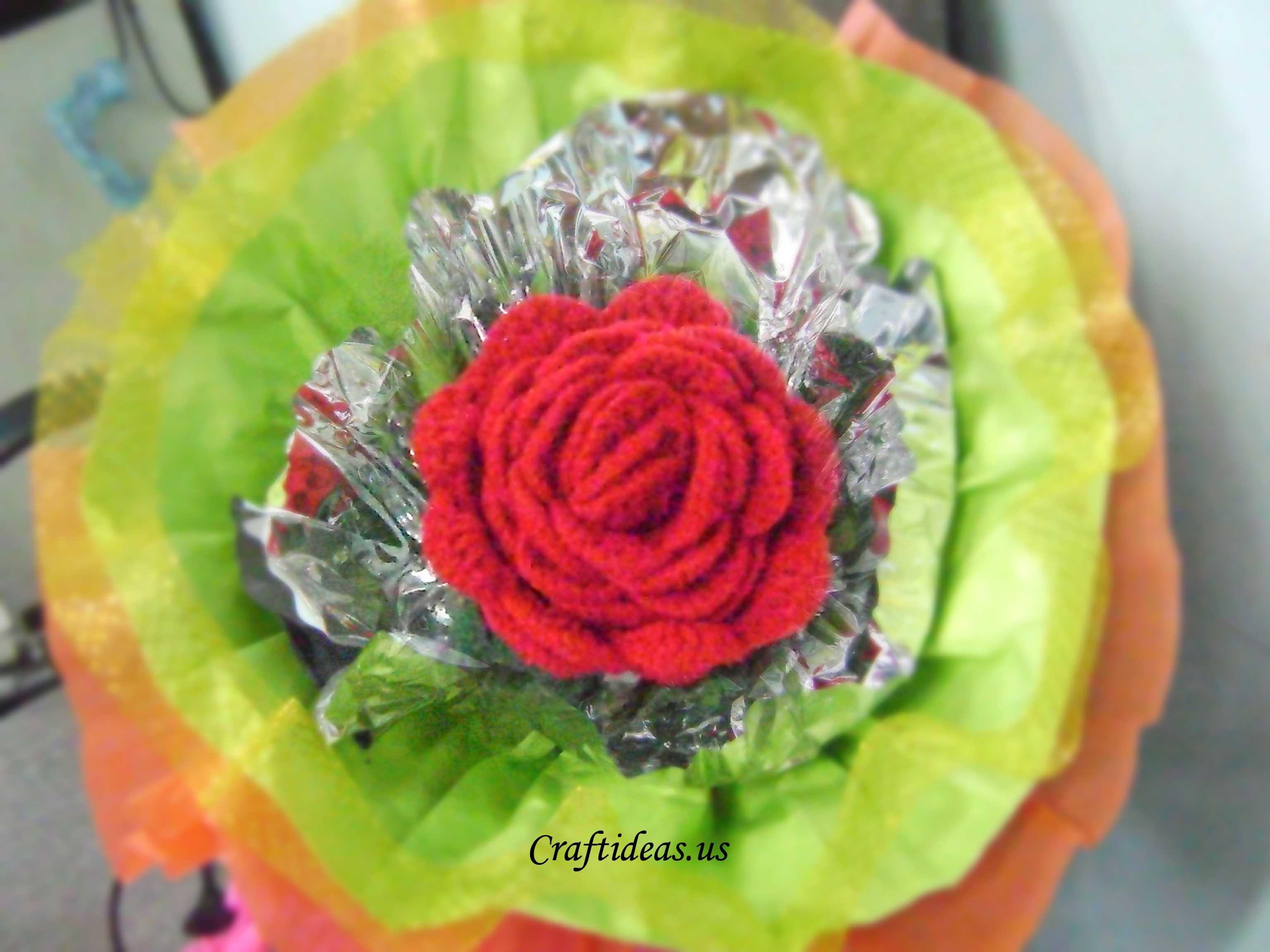 Crochet Big Flower Tutorial