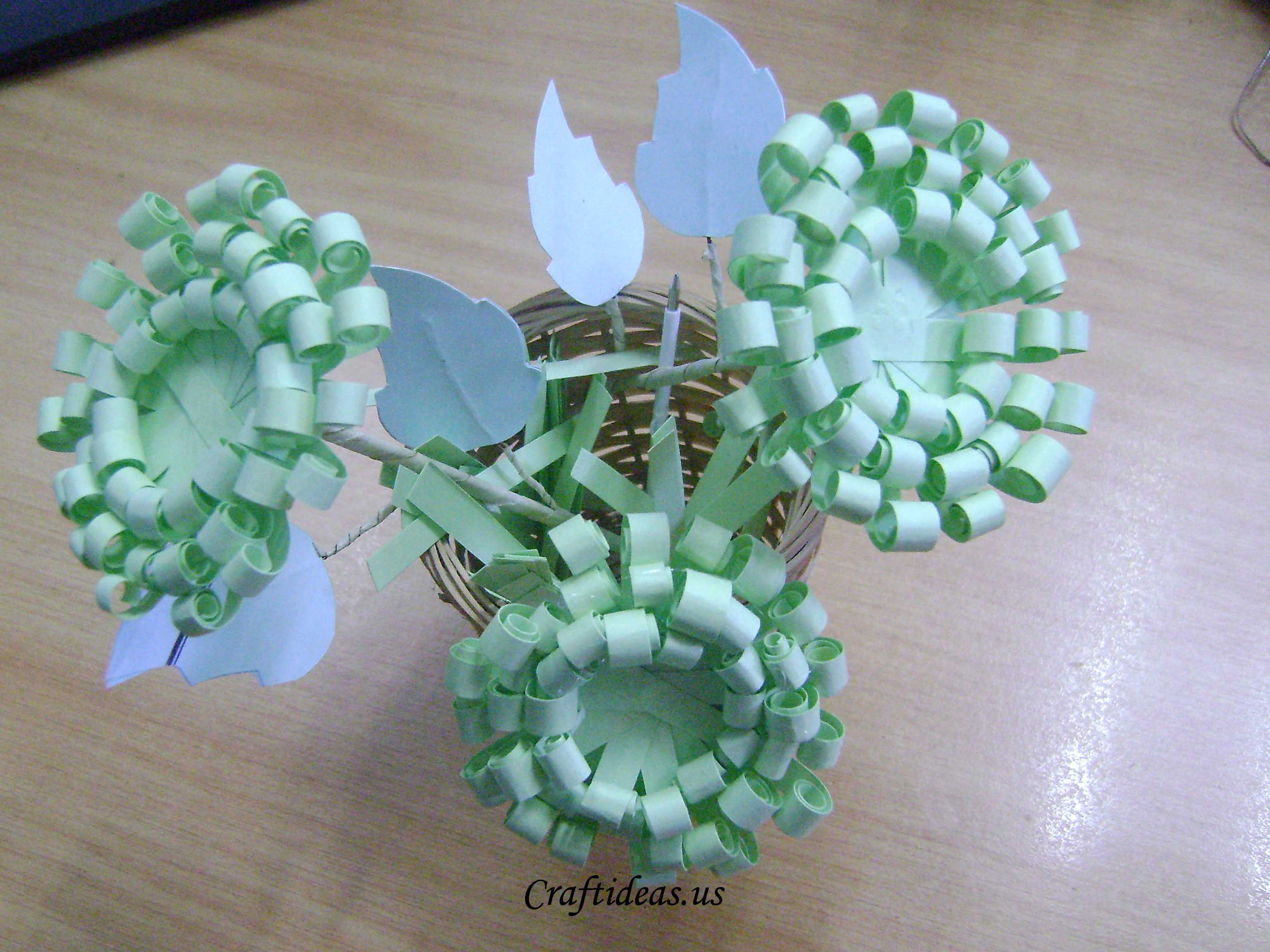 Paper craft ideas paper chrysanthemums tutorial jeuxipadfo Choice Image