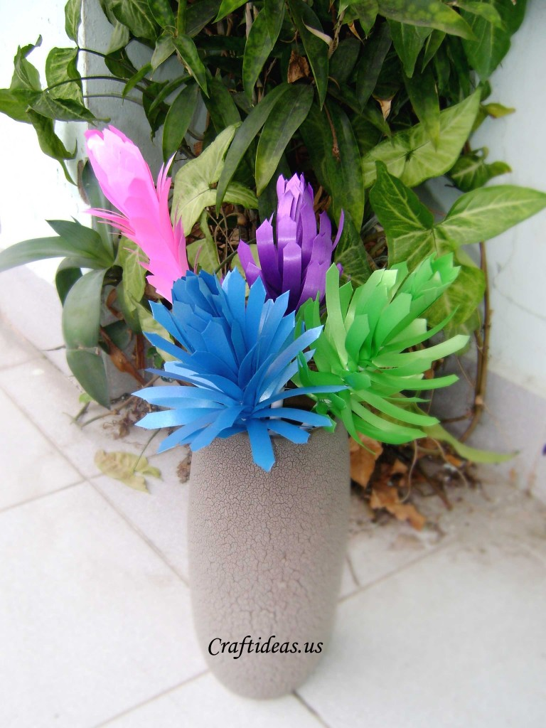 Spring Flowers Ribbon Flowers Tutorial Craft Ideas