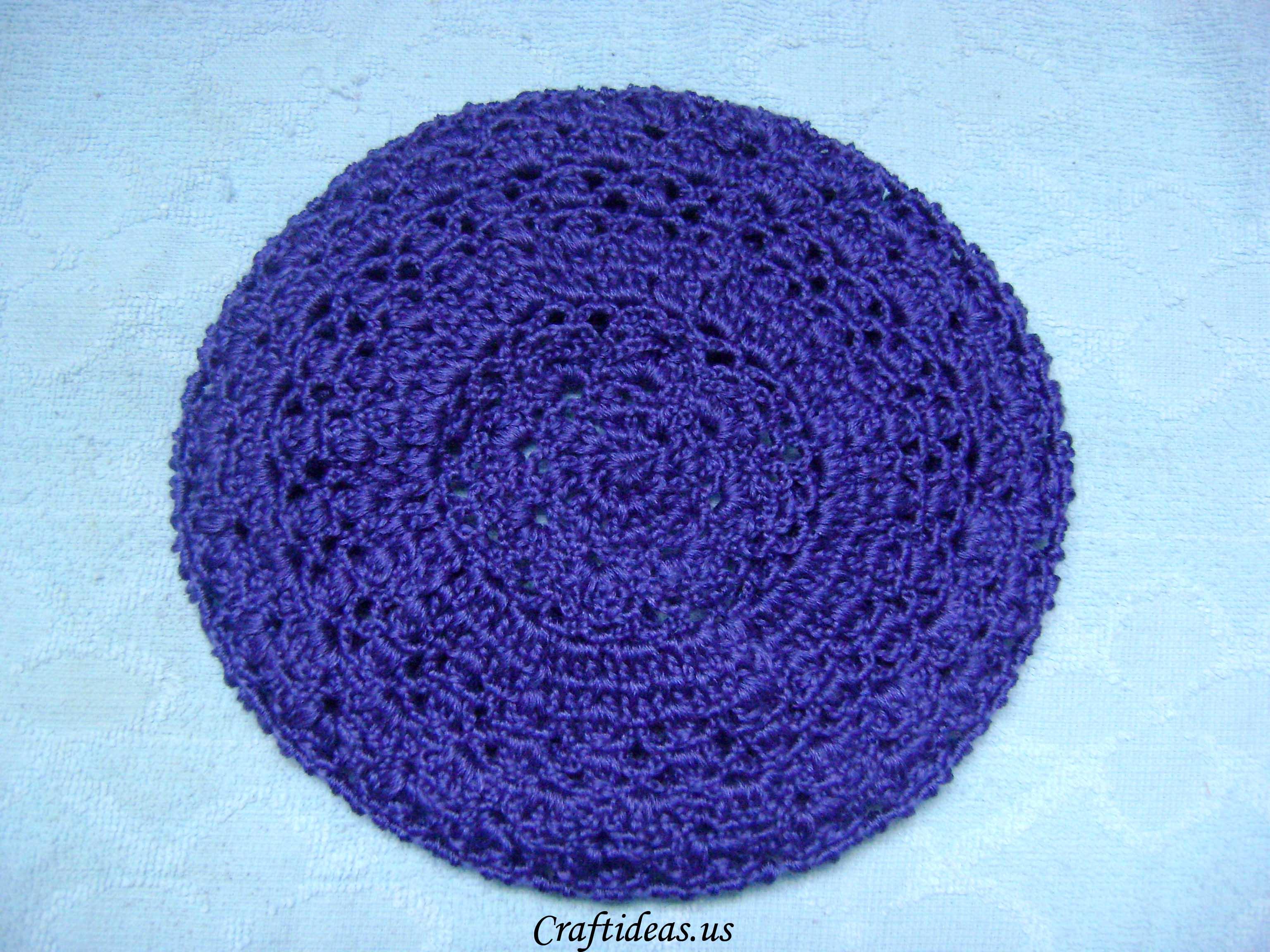 Crochet beret for girls craft ideas for Crochet crafts for kids