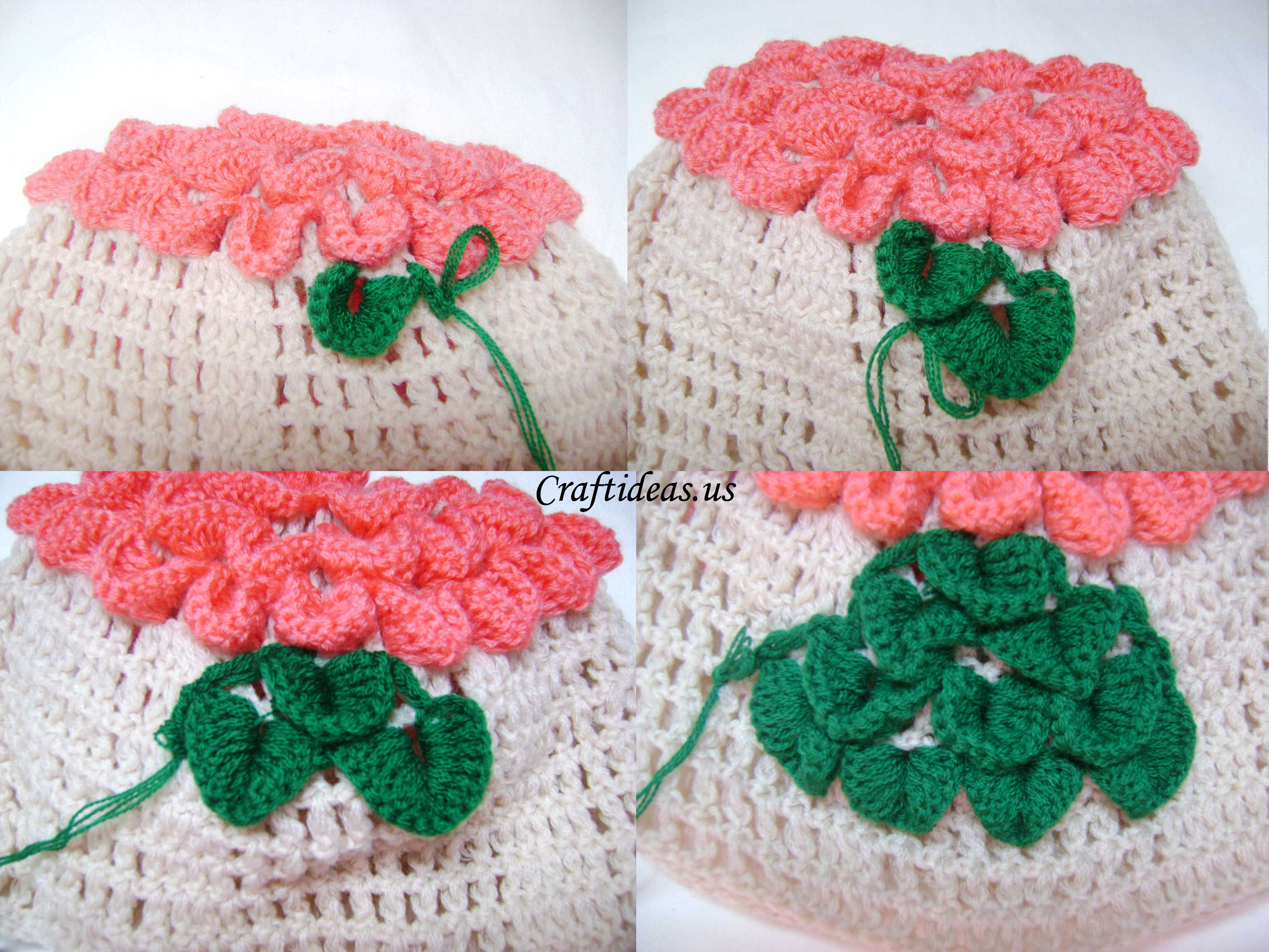 Crocheting Crafts : Christmas ideas: Crochet baby hat - Craft Ideas