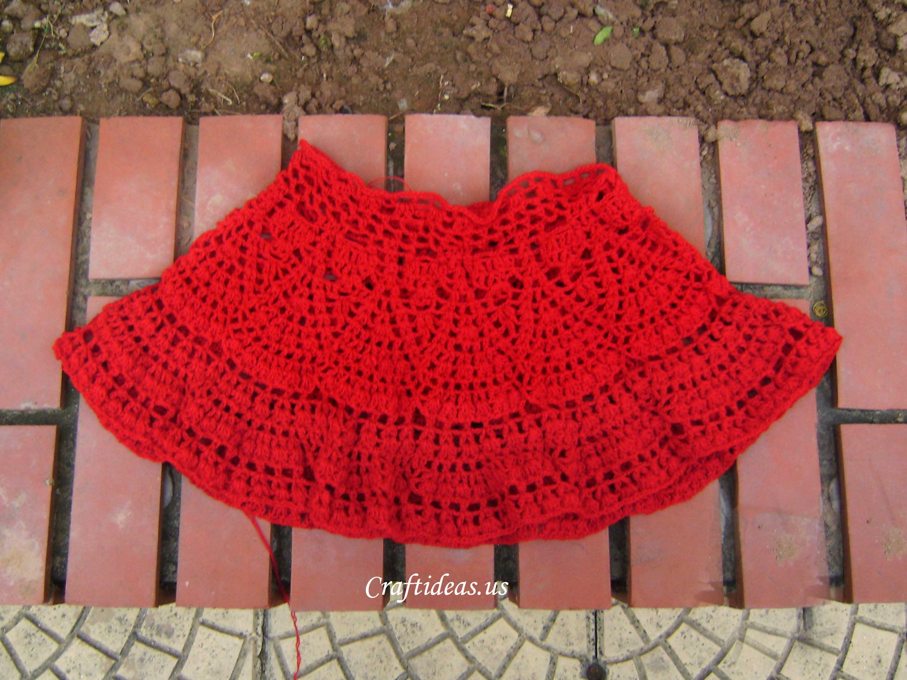 Crochet beauty skirt for little girl - Craft Ideas
