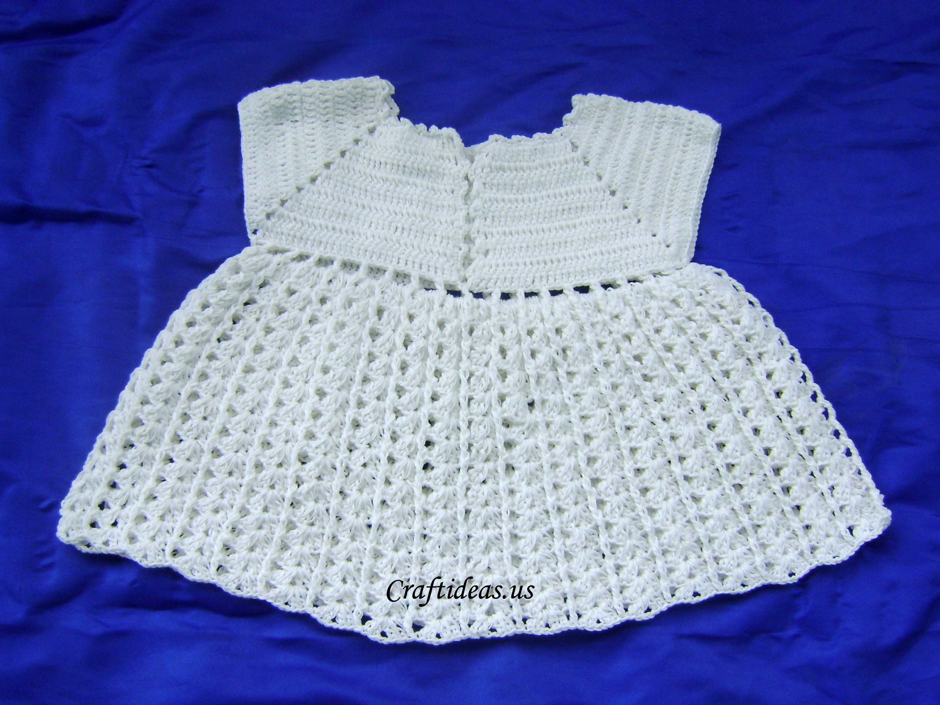 Crochet Cute Baby Dress www.imgkid.com - The Image Kid ...