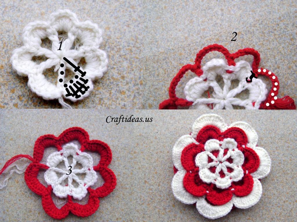 Crochet Flower Girl Crown Tutorial : Crochet flower purse for baby girls - Craft Ideas
