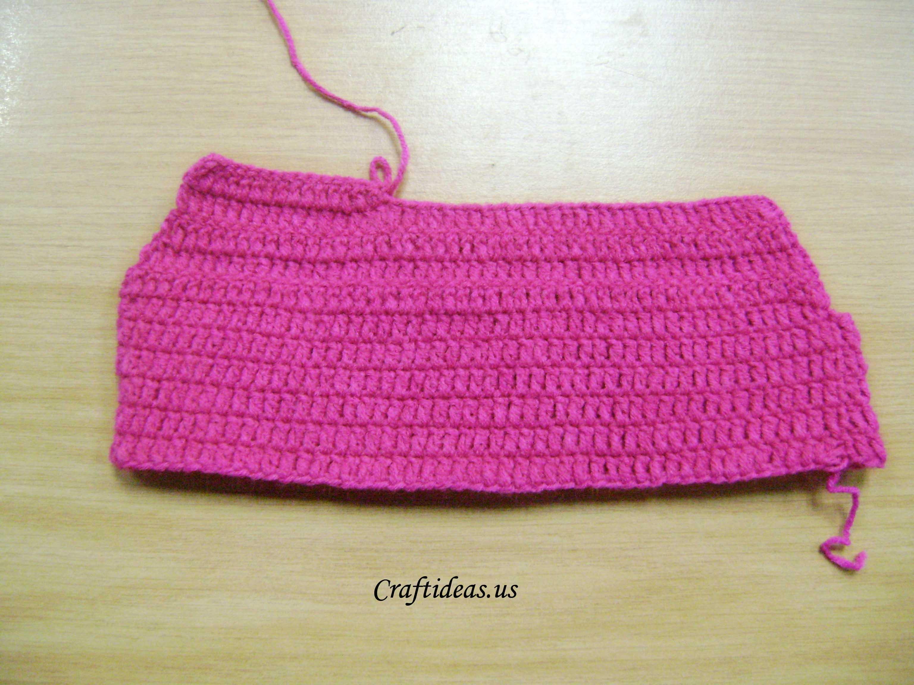 Crochet Craft Ideas : Crochet cute baby dress tutorial