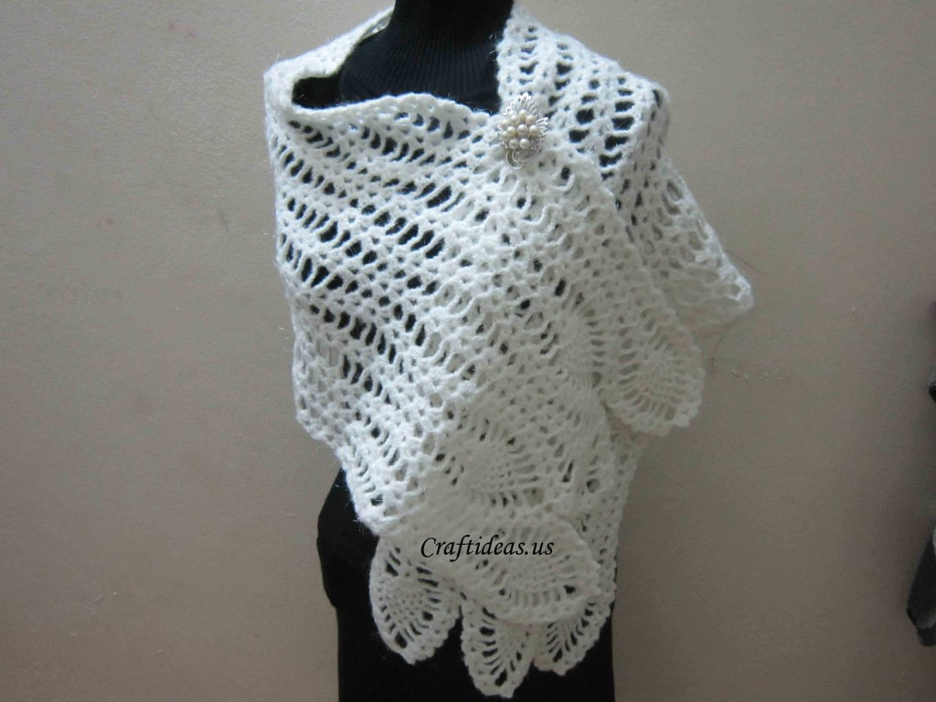 Crochet scarf for ladies - Craft Ideas