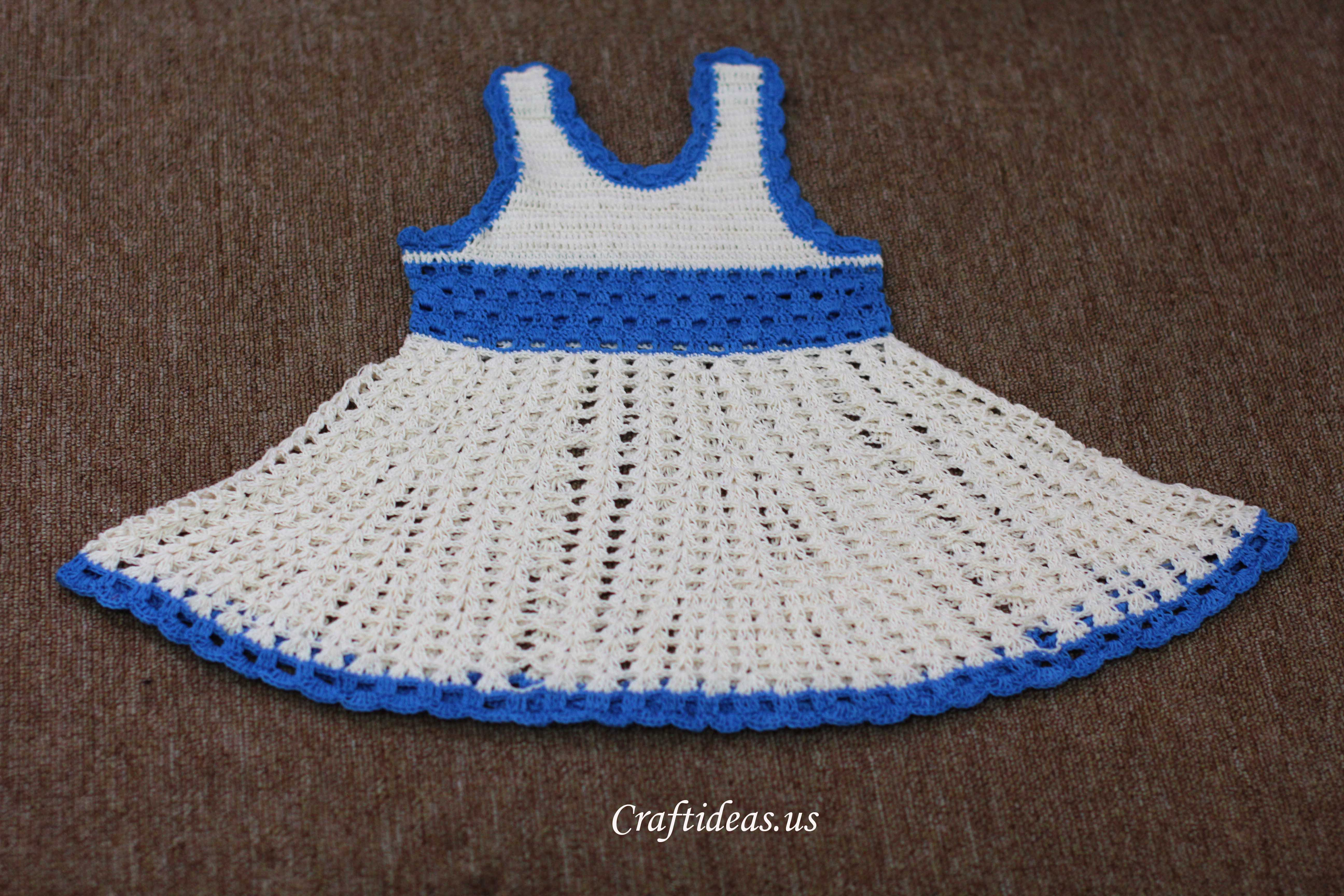Pin Crocheting Tank Top Baby Dress Crochet Pattern Picture ...