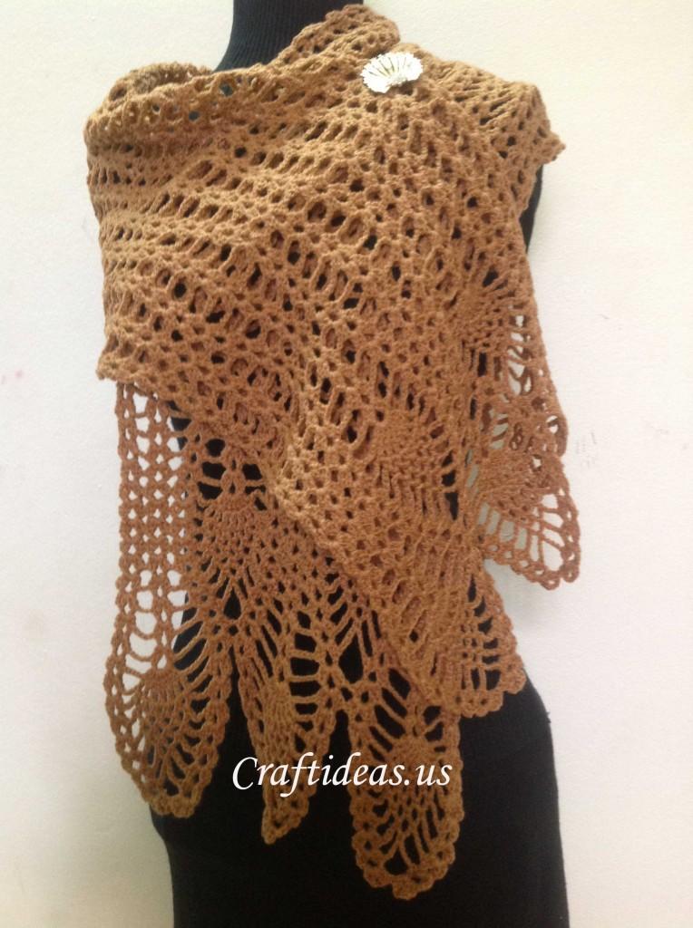 Crochet Scarf For Ladies Craft Ideas