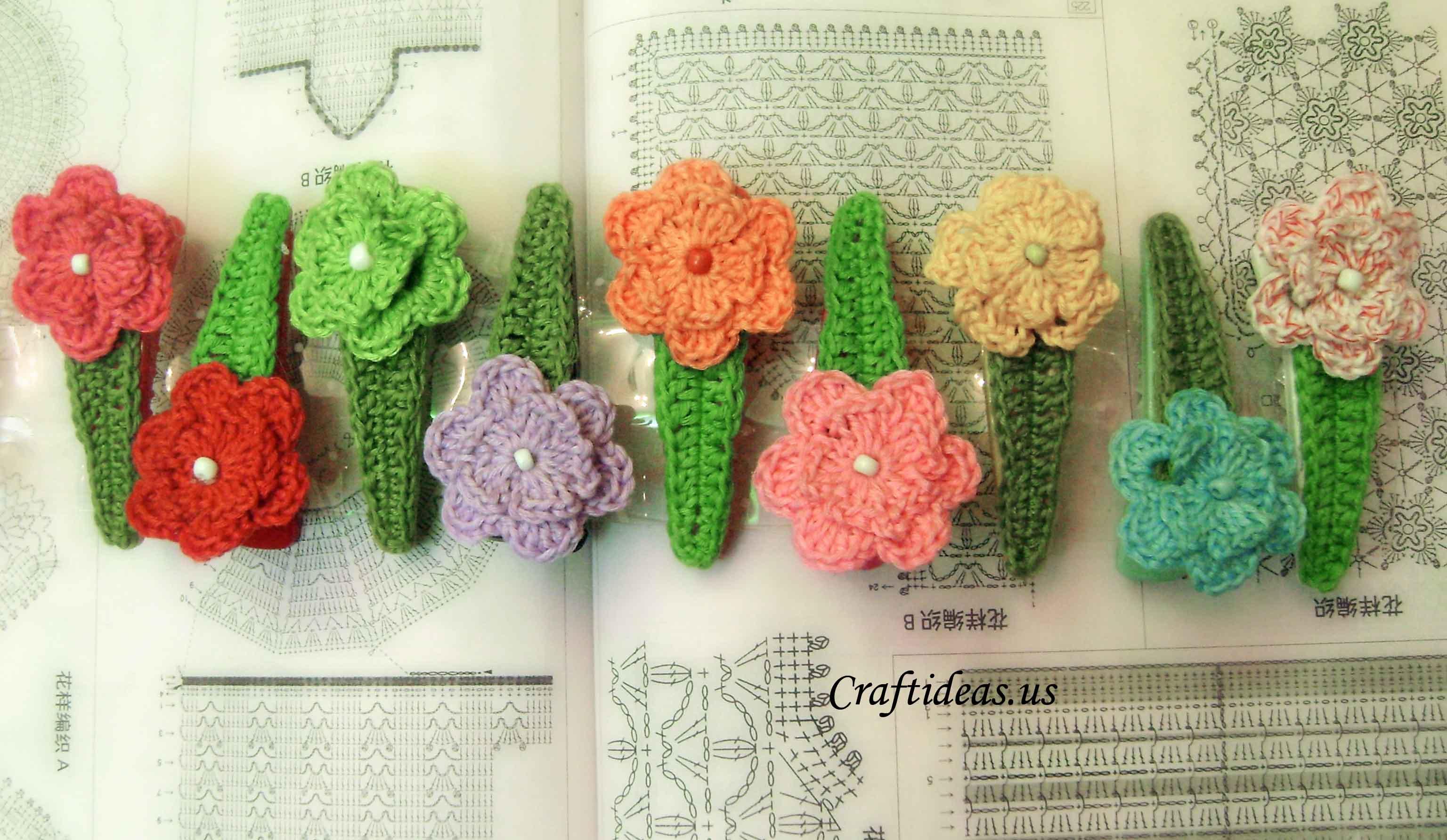 Flowers craft ideas crafts for kids hobbycraft - Como hacer adornos para el pelo ...