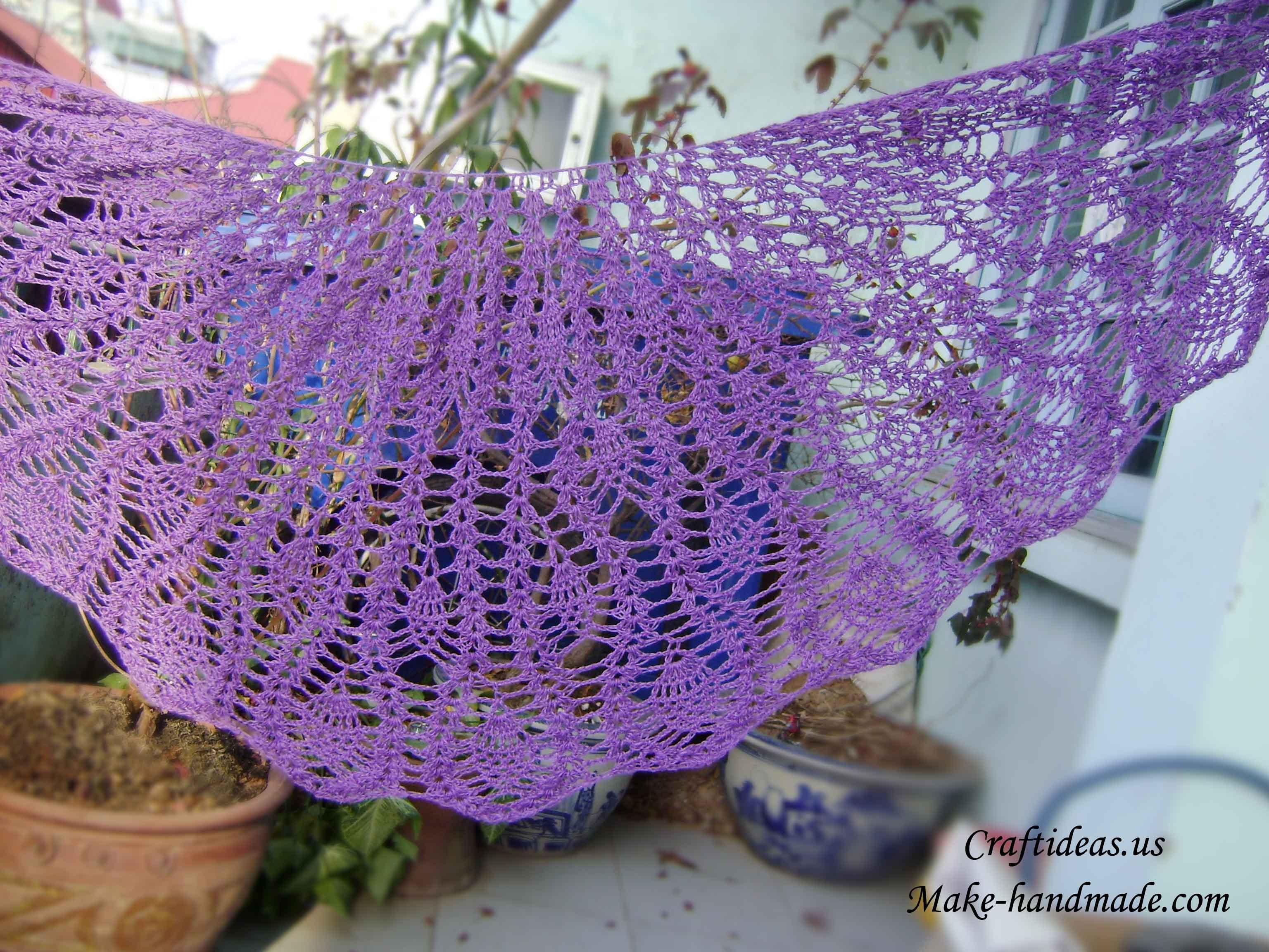 Free Crochet Shawl Erieairfair