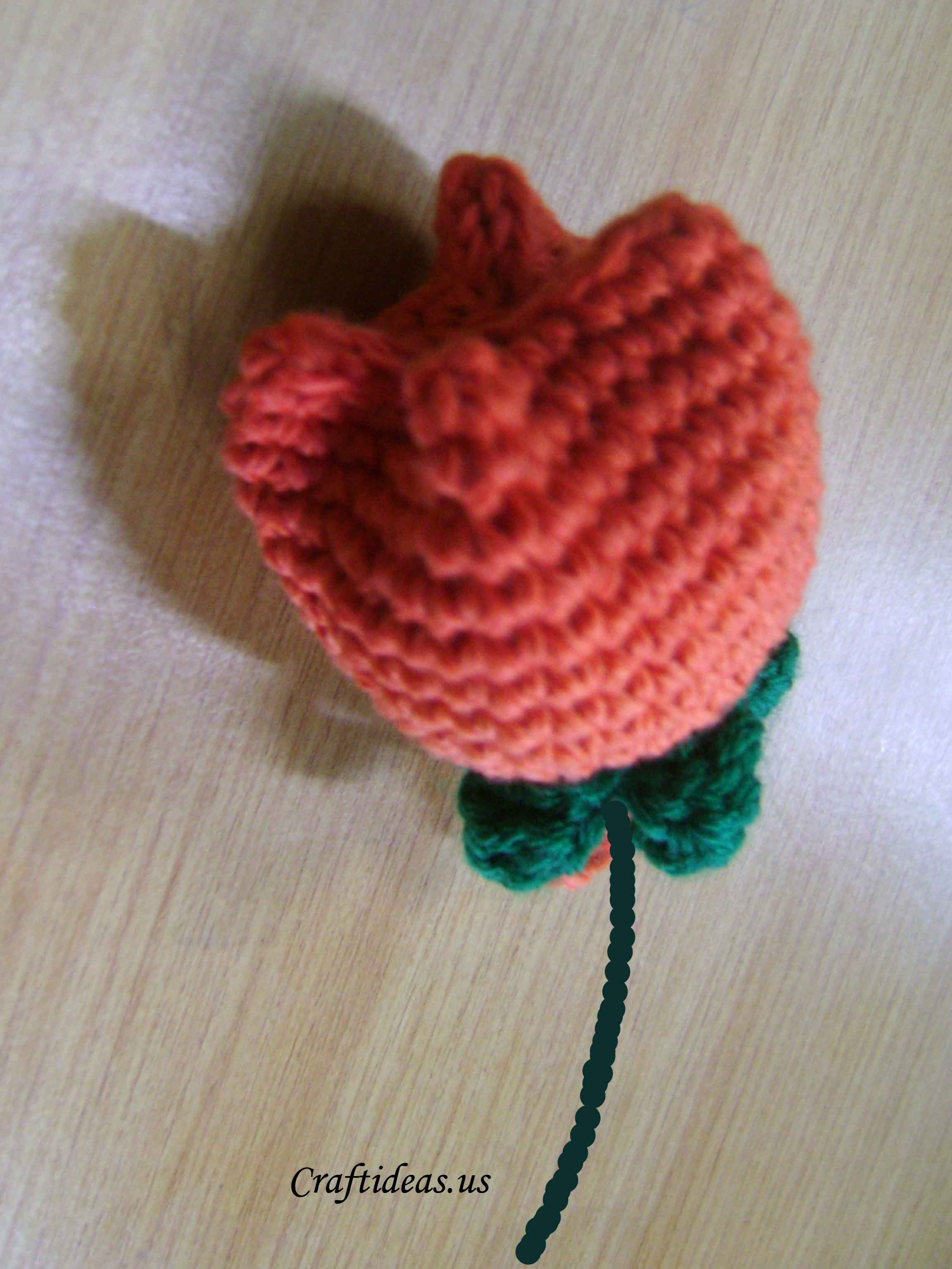 Crocheting Tutorials : crochet tulip flower tutorial