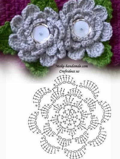 Crochet cowl scarf and headband 2 in 1 craft ideas crochet beauty flower chart ccuart Gallery