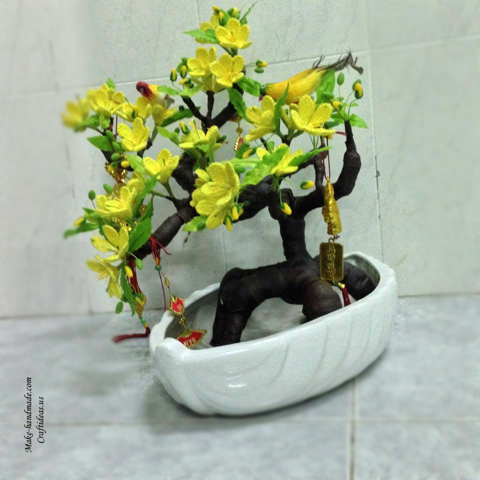 Make flower tree for your home