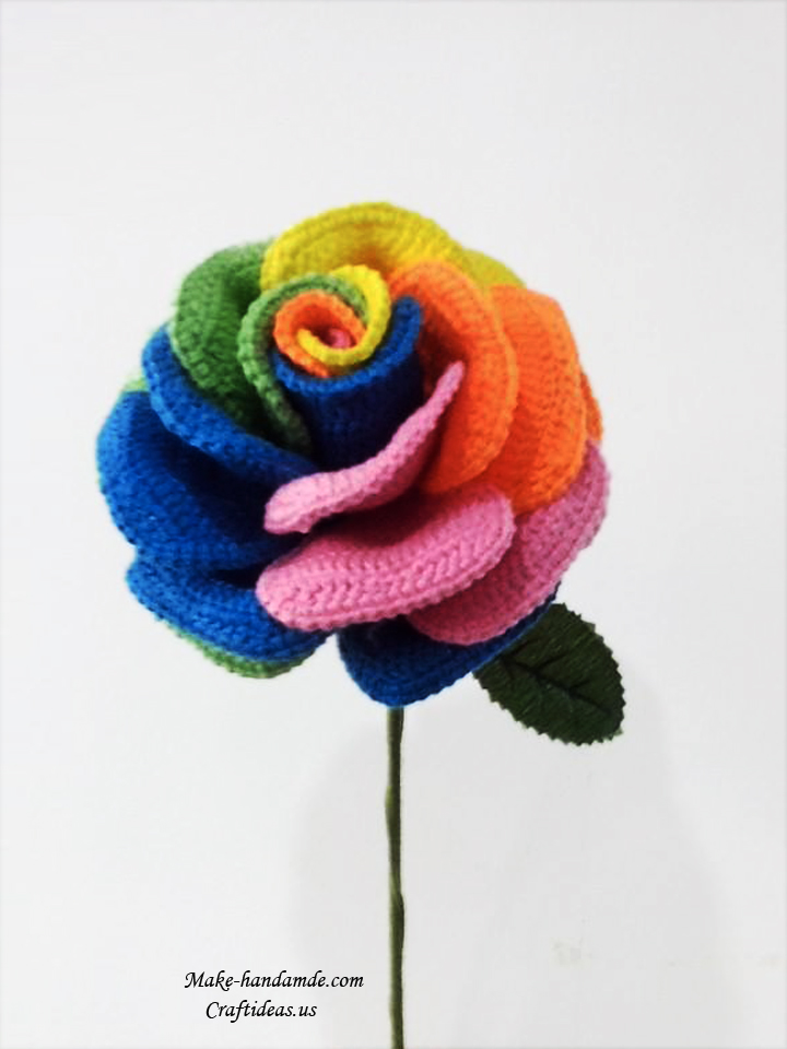 crochet rose ideas