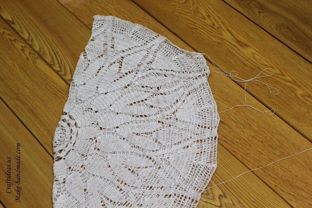 Crafts handmade dress