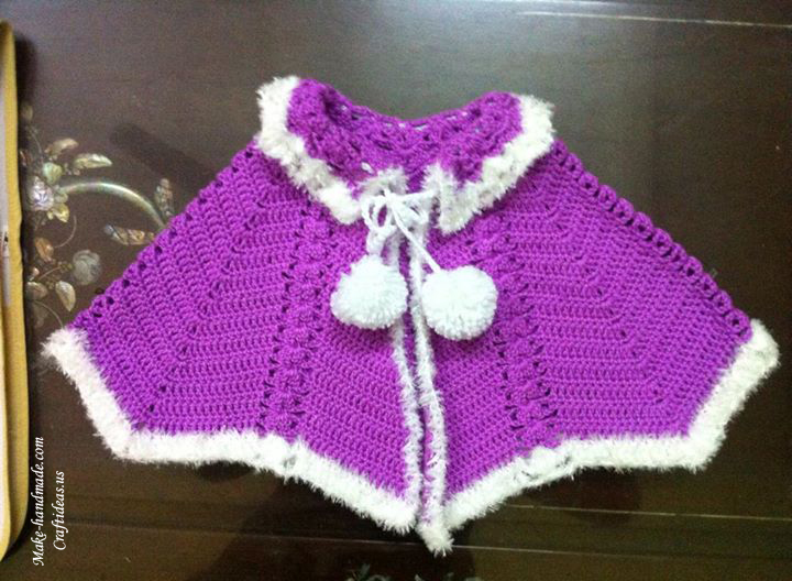 Crochet Baby Poncho Patterns Free ~ SquareOne for .