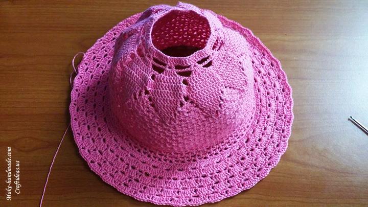 Crochet Beautiful Princess Hat Chart Craft Ideas