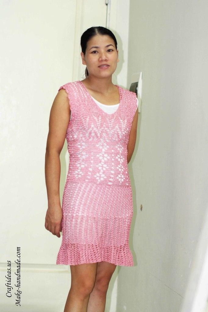 Crochet lace dress ideas for women
