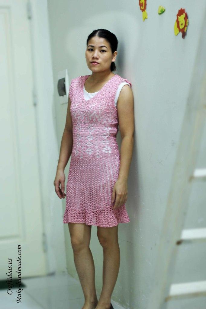 Crochet summer lace dress ideas