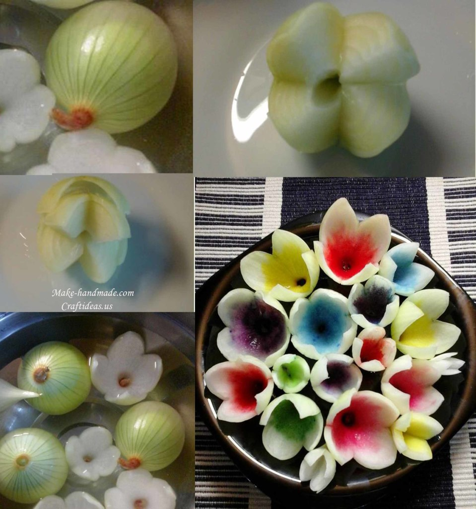 Carving flower ideas