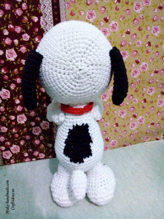 Crochet Amigurumi Ideas : Crochet amigurumi cute little Snoopy doggy - Craft Ideas