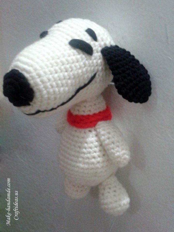 Crochet amigurumi cute little doggy 1