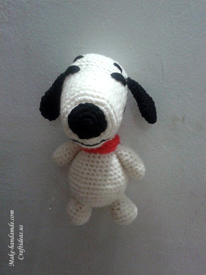Crochet amigurumi cute little doggy ideas