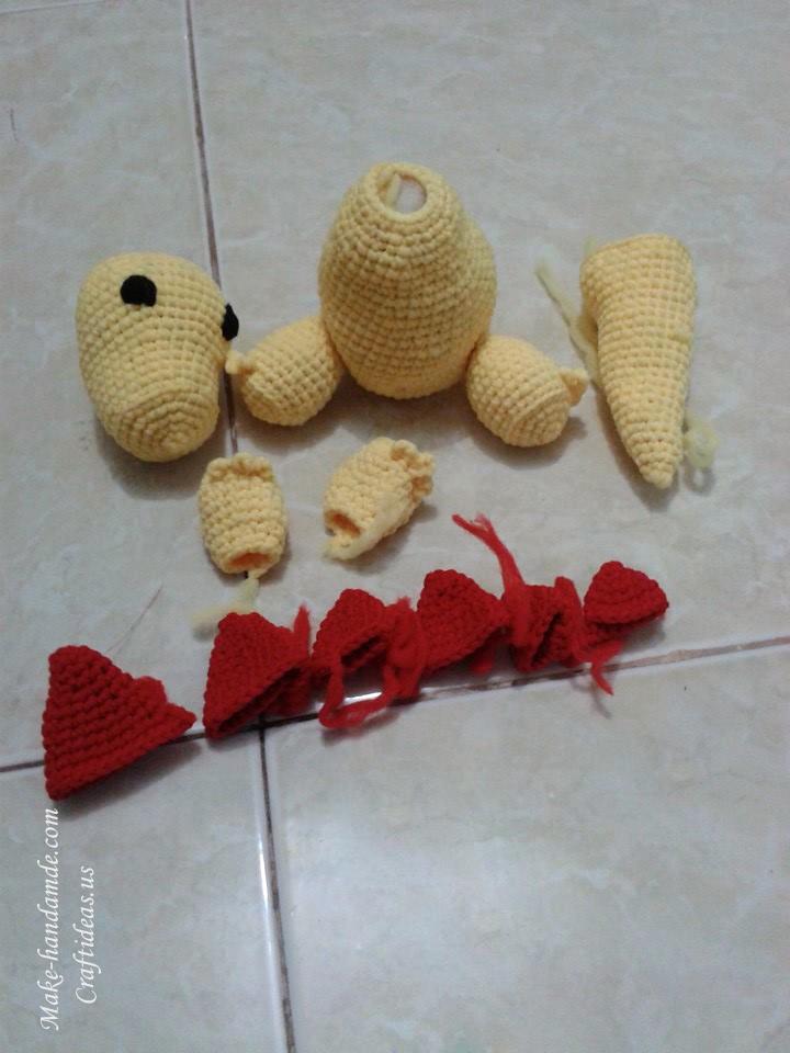 Crochet Amigurumi Ideas : Crochet amigurumi little komodo dragon ideas for kids ...