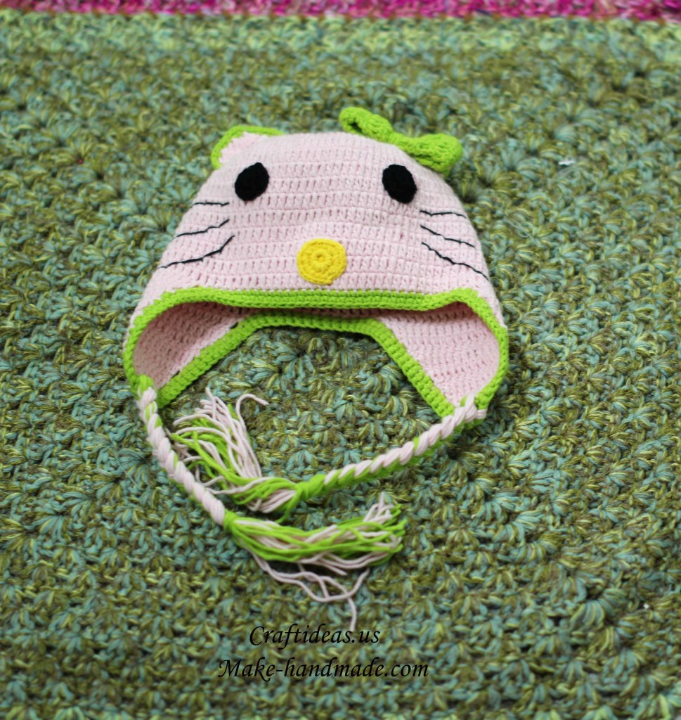 Crochet baby hat ideas