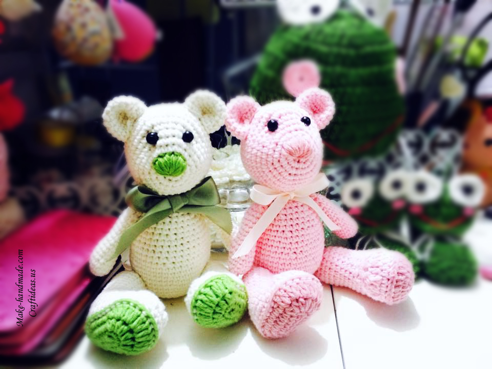 Amigurumi ideas: Crochet cute bears - Craft Ideas