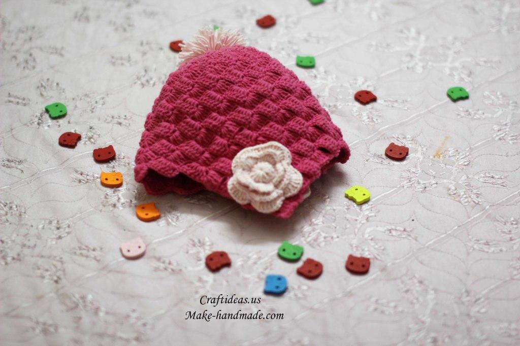 Crochet cute baby hat ideas