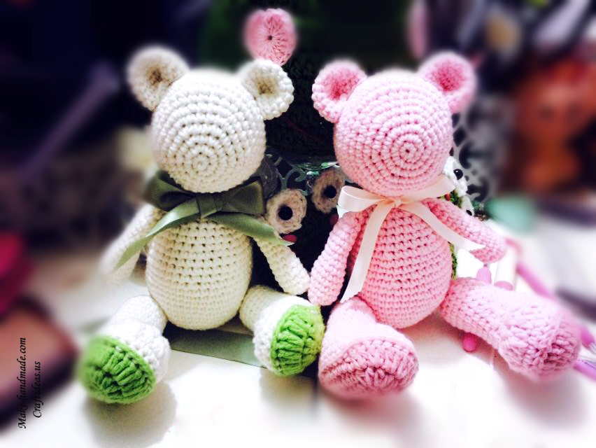 Crochet cute bears ideas
