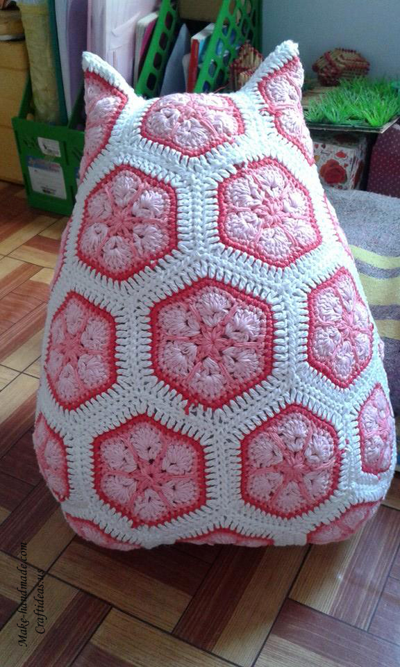 Crochet cute owl