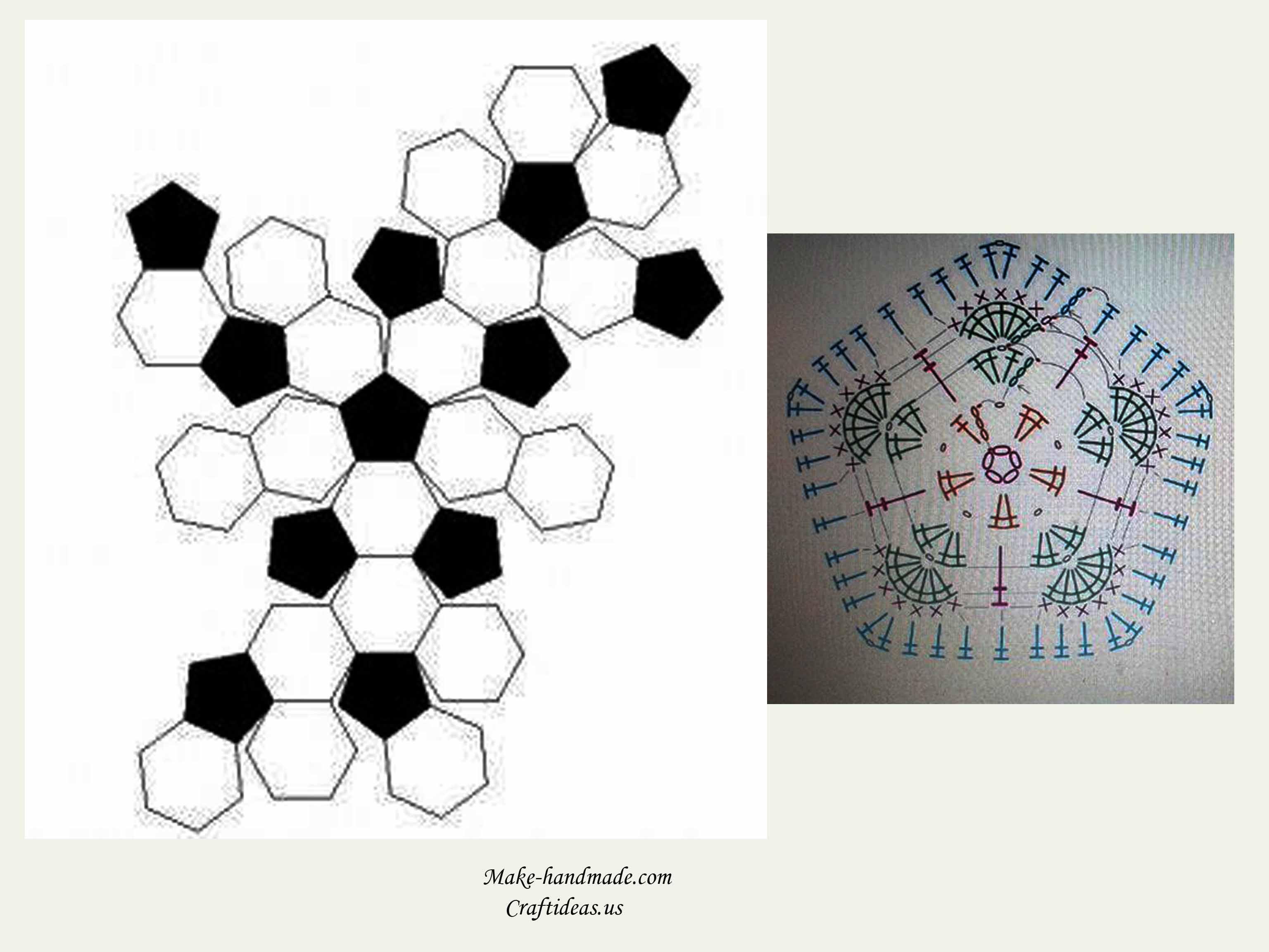 Crochet cute owl of african hexagone for kids - Craft Ideas