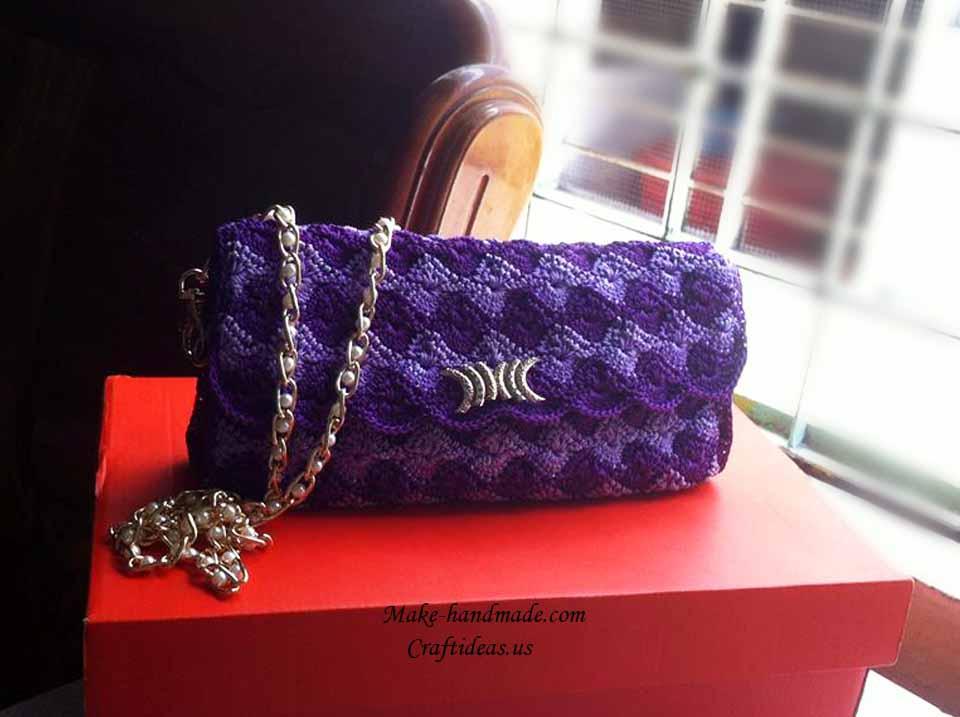 Crochet so beautiful purse for women craft ideas for Craft ideas for women