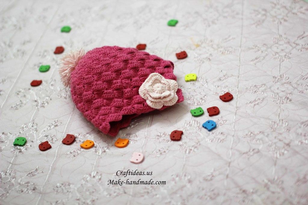 Crochet so cute baby hat ideas
