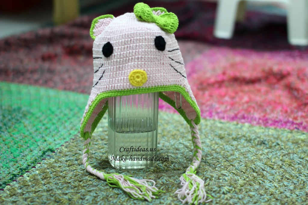 Hello kitty baby hat