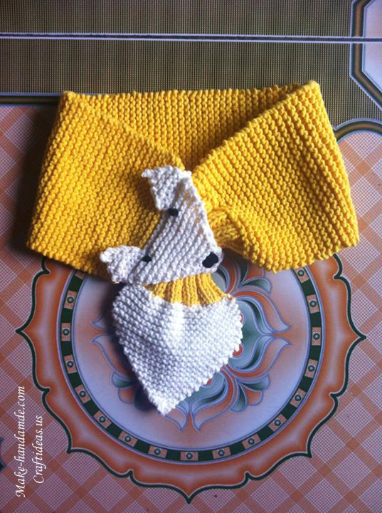 Knitting fox scarves ideas
