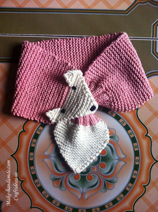 Knitting fox scarves, more ideas