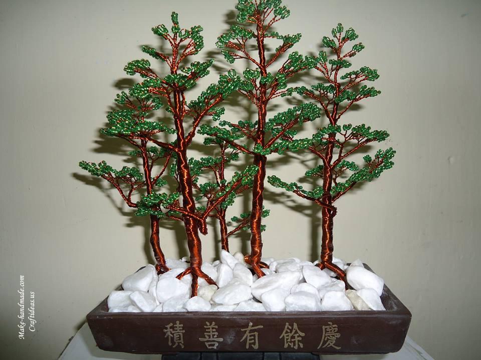 bead pincorn tree ideas